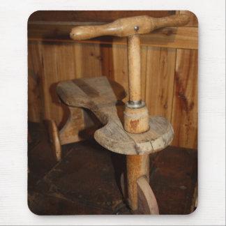 Vespa antigua alfombrillas de ratón