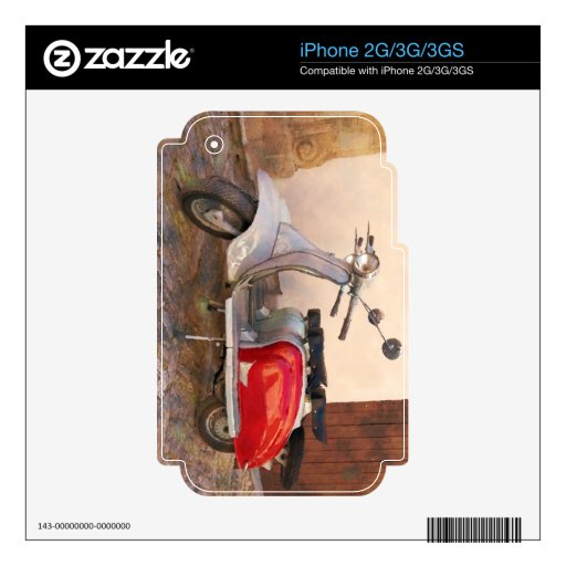 Vespa de Impressitaly Lambretta Calcomanías Para El iPhone 3G