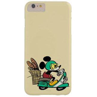 Vespa de Mickey el | del francés Funda De iPhone 6 Plus Barely There