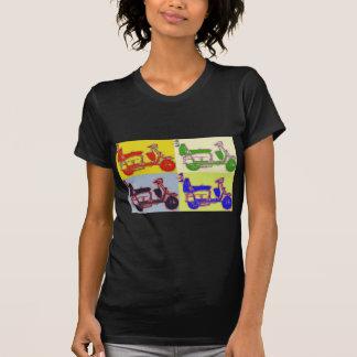 VESPA DEL ARTE POP T-SHIRTS