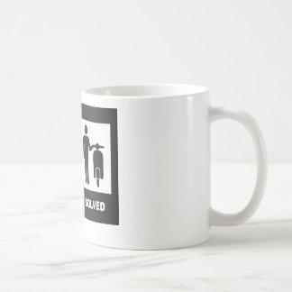 Vespa divertida tazas de café