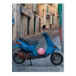 Vespa en Italia Postales
