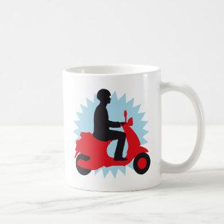 Vespa more scooter coffee mug