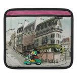 Vespa que apresura de Mickey el | del francés Fundas Para iPads