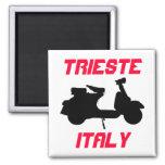 Vespa, Trieste, Italia Imán De Frigorifico