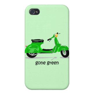vespa verde ida iPhone 4 funda
