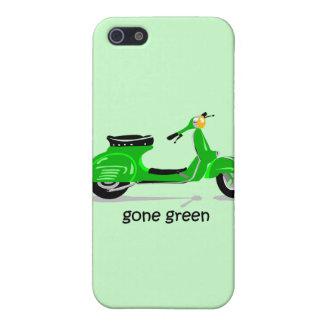 vespa verde ida iPhone 5 funda