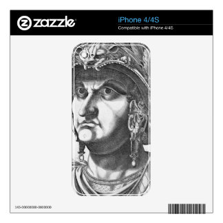 Vespasian (9-79 AD), 1596 (engraving) iPhone 4S Skins