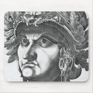 Vespasian (9-79 AD), 1596 (engraving) Mouse Pad
