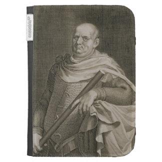 Vespasian (9-79 AD) Emperor of Rome 69-79 AD engra Kindle Cases