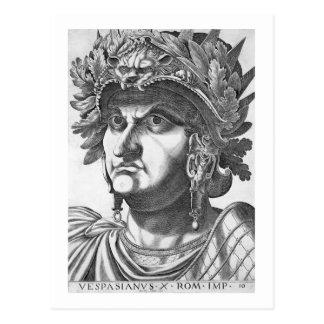 Vespasian (9-79 ANUNCIO), 1596 (grabado) Postal