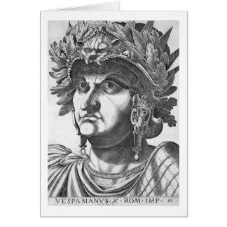 Vespasian (9-79 ANUNCIO), 1596 (grabado) Tarjeta De Felicitación