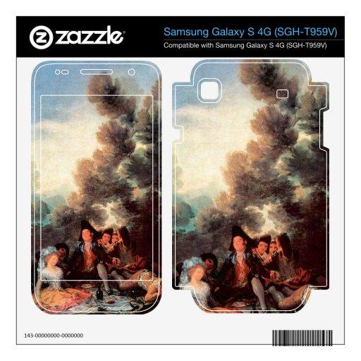 Vesper outdoors by Francisco de Goya Samsung Galaxy S 4G Skin