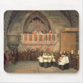 Vespers in the Saint Francis Church Mouse Pad