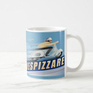 Vespizarre Retro Scooter Advert Coffee Mug