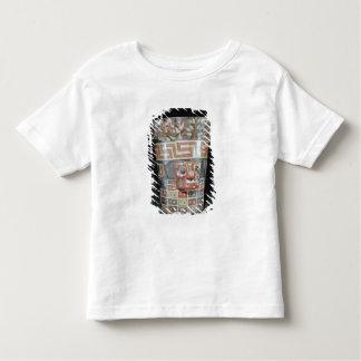 Vessel depicting corn yams and animals shirt