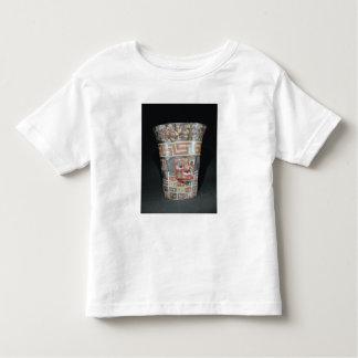 Vessel depicting corn yams and animals t-shirt