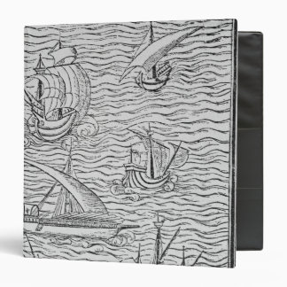 Vessels of Early Spanish Navigators 3 Ring Binder