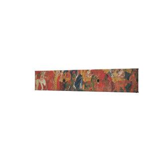 """""""Vessnatara Jataka"""", de una cubierta del manuscrit Impresiones En Lona Estiradas"""