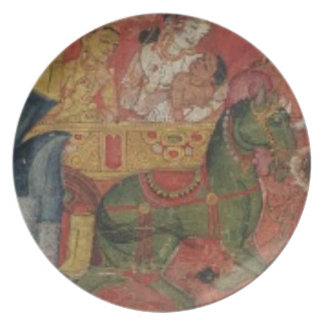 """""""Vessnatara Jataka"""", de una cubierta del manuscrit Platos"""