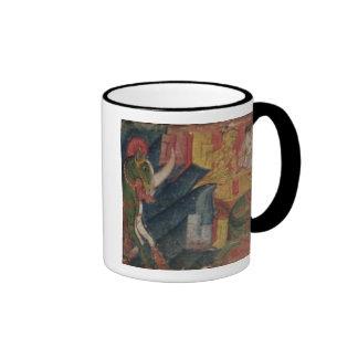 'Vessnatara Jataka', from a manuscript cover, Pala Ringer Coffee Mug