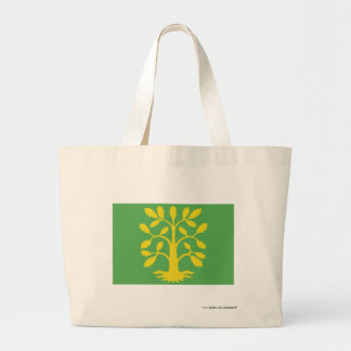 Vest-Agder flag Jumbo Tote Bag