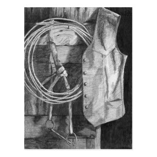 Vest and Rope Postcard