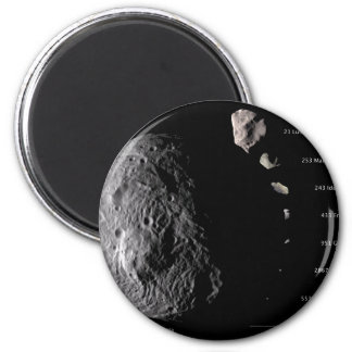Vesta and Asteroid Gallery 2 Inch Round Magnet