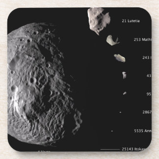 Vesta and Asteroid Gallery Coasters