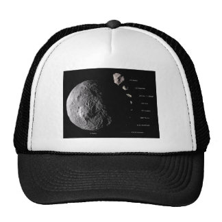 Vesta and Asteroid Gallery Mesh Hat
