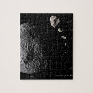 Vesta and Asteroid Gallery Jigsaw Puzzle