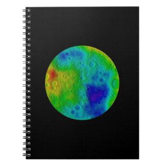 Vesta Asteroid / Protoplanet  NASA Note Book