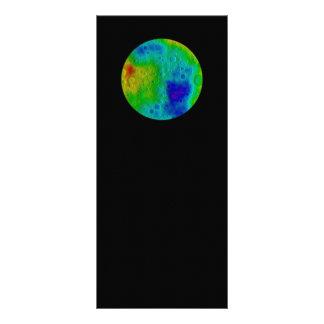 Vesta Asteroid / Protoplanet  NASA Full Color Rack Card