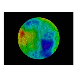 Vesta Asteroid / Protoplanet Post Card