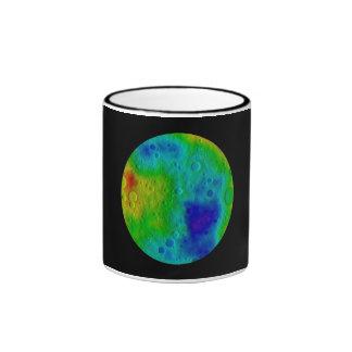 Vesta Asteroid / Protoplanet Ringer Mug