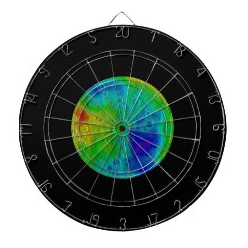 Vesta Asteroid / Protoplanet Simulation Dart Boards