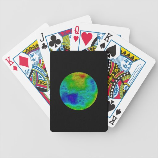 Vesta Asteroid / Protoplanet Simulation Bicycle Playing Cards