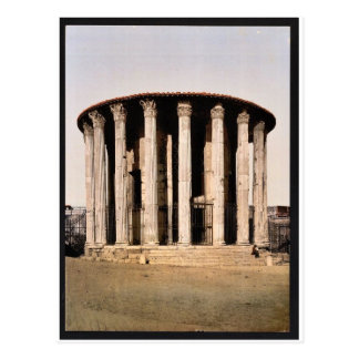 Vesta s Temple Rome Italy classic Photochrom Postcards