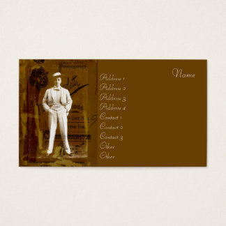Vesta Tilley Business Card