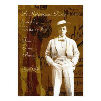 Vesta Tilley Card
