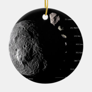 Vesta y galería asteroide adorno