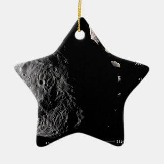 Vesta y galería asteroide ornamentos de navidad