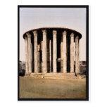 Vesta's Temple, Rome, Italy classic Photochrom Postcard