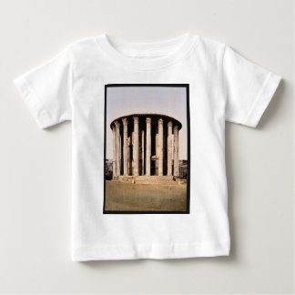 Vesta's Temple, Rome, Italy classic Photochrom Infant T-shirt