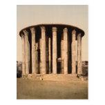 Vesta's Temple, Rome, Lazio Italy Post Card
