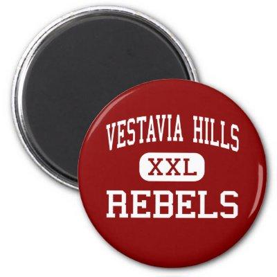 Vestavia Hills - Rebels - High - Vestavia Hills Fridge Magnet