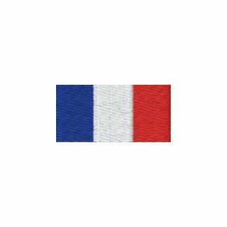¡Veste de Francia del la de Drapeau de - Bleus de  Chaqueta Bordada De Entrenamiento