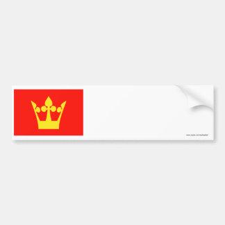 Vestfold flag bumper stickers