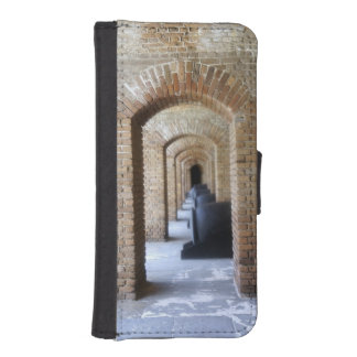 Vestíbulo histórico fundas billetera de iPhone 5