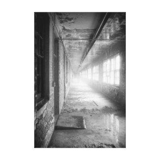 Vestíbulos abandonados en la impresión de la bella impresion de lienzo